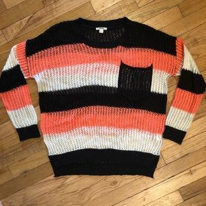 """""""Timing"""" Brand Sweater"""